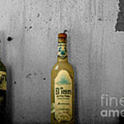 Tequila And Vino Tinto Poster by Cheryl Young