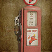 Texaco Fire Chief Poster by Bob and Nancy Kendrick