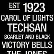 Texas Tech College Town Wall Art Poster by Replay Photos