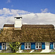 Thatched Country House Poster by Heiko Koehrer-Wagner