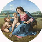 The Alba Madonna Poster by Raffaello Sanzio of Urbino