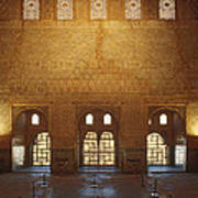 The Alhambra King Room Poster by Guido Montanes Castillo