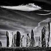 The Angel Of Callanish  Poster by Tim Gainey