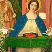 The Annunciation Poster by Arthur Joseph Gaskin