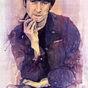 The Beatles John Lennon Poster by Yuriy  Shevchuk