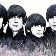 The Beatles Poster by Yuriy  Shevchuk