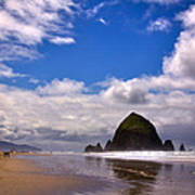 The Beautiful Cannon Beach Oregon Poster by David Patterson