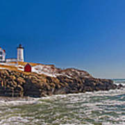 The Beauty Of Nubble Poster by Joann Vitali