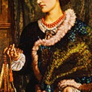 The Birthday Poster by William Holman Hunt