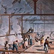 The Boiling House, From Ten Views Poster by William Clark