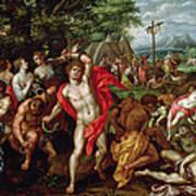 The Brazen Serpent Poster by Hendrik de Clerck