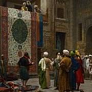 The Carpet Merchant Poster by Jean Leon Gerome