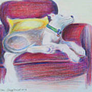The Comfy Chair Poster by Ginny Schmidt