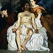 The Dead Christ And Angels Poster by Edouard Manet