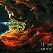 The Devil's Lair Poster by Murphy Elliott