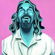 The Dude Poster by Ellen Patton