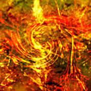 The End - 12/21/2012 - Horrific Hallucination Poster by J Larry Walker