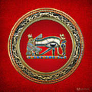 The Eye Of Horus Poster by Serge Averbukh