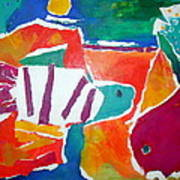 The Fish In The Sea Poster by Diane Fine