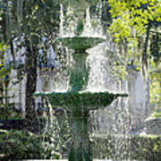 The Fountain Poster by Mike McGlothlen