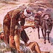 The Good Samaritan Poster by Harold Copping
