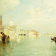 The Grand Canal Poster by Thomas Moran