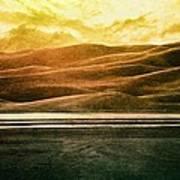 The Great Sand Dunes Poster by Brett Pfister