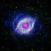 The Helix Nebula  Poster by The  Vault - Jennifer Rondinelli Reilly