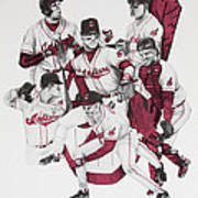 The Indians' Glory Years-late 90's Poster by Joe Lisowski