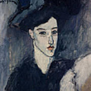 The Jewess Poster by Amedeo Modigliani