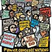 The Labor Movement Poster by Ricardo Levins Morales