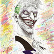 The Laughing Man Poster by Wave