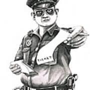 The Law Poster by Murphy Elliott