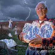 The Lightning Catchers Poster by Bryan Allen
