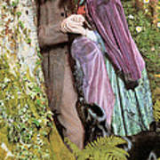 The Long Engagement Poster by Arthur Hughes