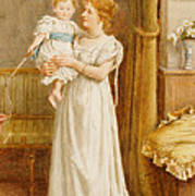 The Master Of The House Poster by George Goodwin Kilburne