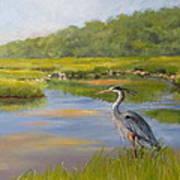 The Millway Marsh Poster by Karol Wyckoff