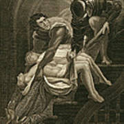 The Murder Of The Two Princes Poster by James Northcote