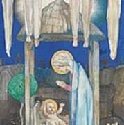 The Nativity Poster by Edward Reginald Frampton