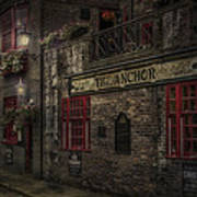 The Old Anchor Pub Poster by Erik Brede