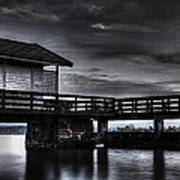 The Old Boat House Poster by Erik Brede