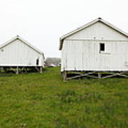 The Old Pierce Point Ranch At Foggy Point Reyes California 5d28140 Poster by Wingsdomain Art and Photography