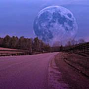 The Peace Moon  Poster by Betsy Knapp