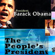 The People's President Still Poster by Terry Wallace