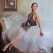 The Prima Ballerina Poster by Anna Rose Bain
