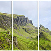 The Quiraing Triptych Poster by Chris Thaxter
