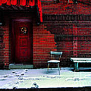 The Red Door Poster by Amy Cicconi