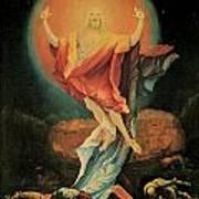 The Resurrection Of Christ Poster by Matthias Grunewald