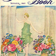 The Sketch Book 1925 1920s Uk Womens Poster by The Advertising Archives