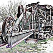 The Steam Shovel Poster by Glenn McCarthy Art and Photography
